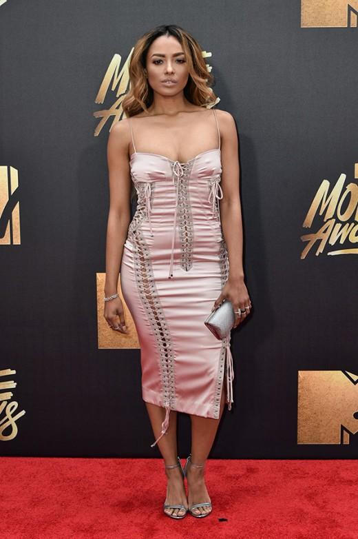 Kat Graham MTV Movie Awards Red Carpet Photos