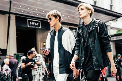Men Spring London Collections 2017 Best Street Style Looks
