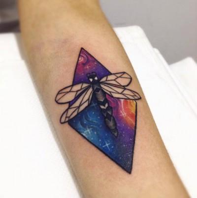 08-shineeveninthedark-arm-dragonfly-galaxy-tattoo