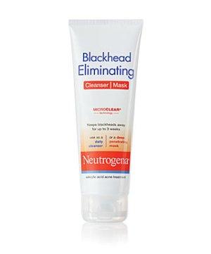 neutrogena blackhead eliminating cleansser mask