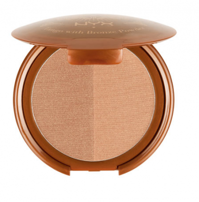 nyx cosmetics tango with bronzing powder bronzer ensemble
