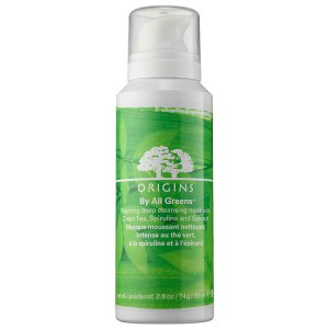 origins by all greens foaming deep cleansing mask
