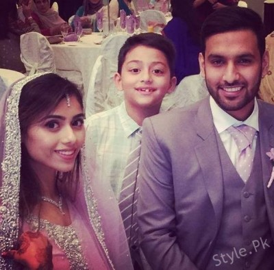 Zaid Ali Reception Pictures