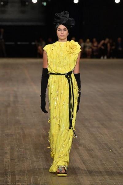 Kaia Gerber First Fashion Week 2017