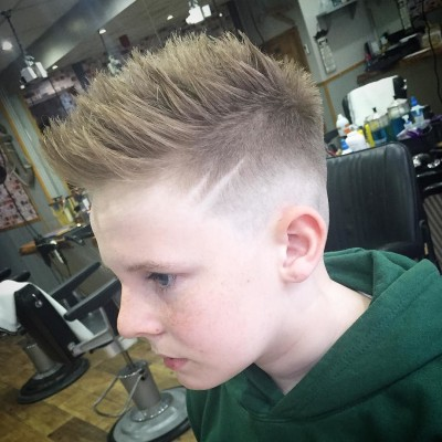 new world barbers spiky hairstyles for boys
