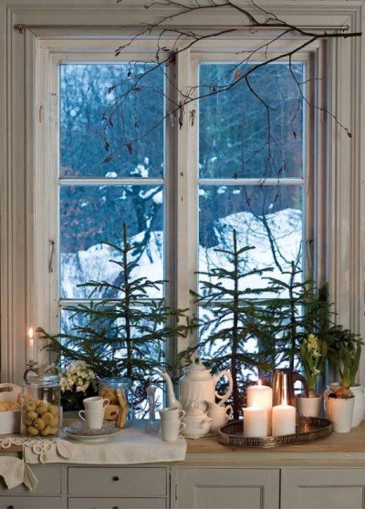 spruce up your kitchen for winter ideas