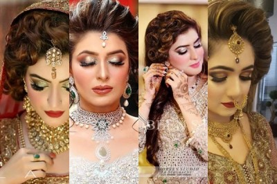 Latest Pakistani Bridal Hairstyles 2018 1