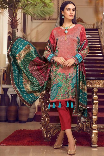 Warda Melange Winter Collection