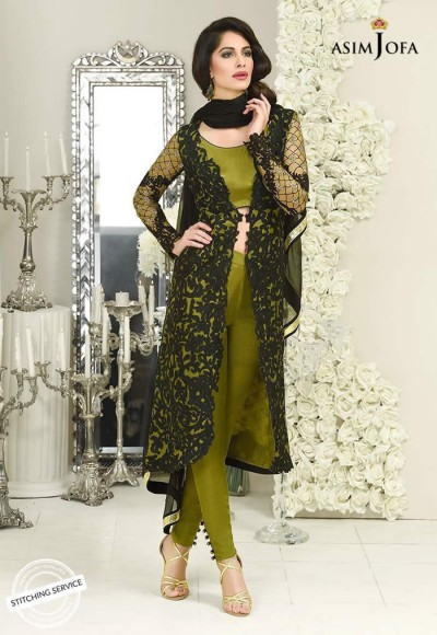 Asim Jofa Luxury Chiffon Collection 2019-1