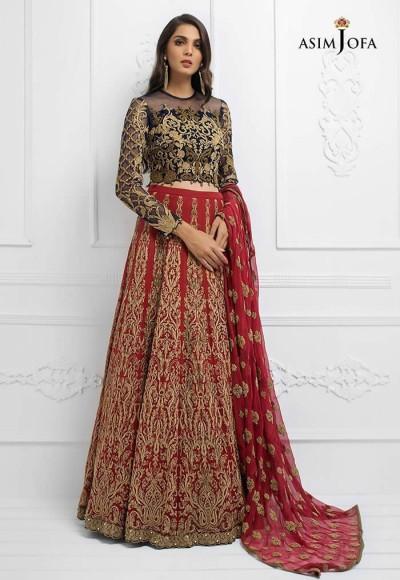 Asim Jofa Luxury Chiffon Collection 2019 (11)