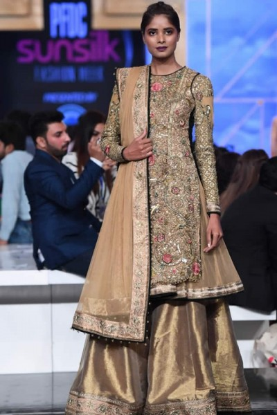 Fahad Hussayn Couture partywear 2019