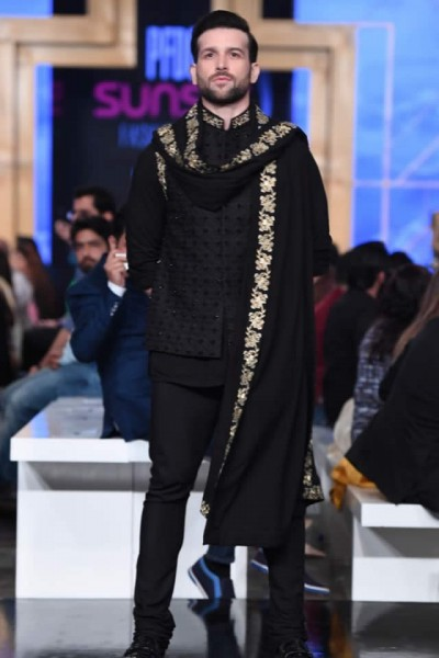 Fahad Hussayn Menswear collection 2019