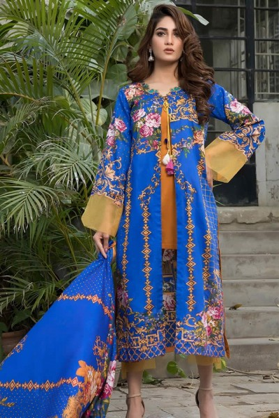 Ittehad Crystal Lawn collection 2019