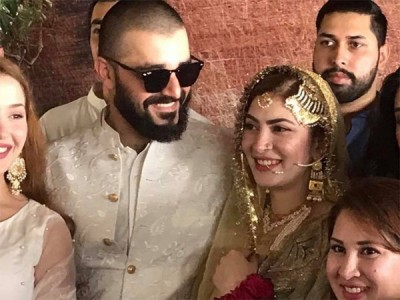 Hamza Ali Abbasi Gets Married with Naimal Khawar