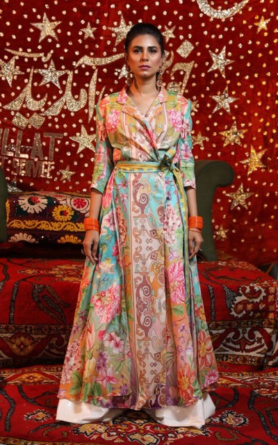 Most Recent lawn Collection 2019 By Fahad Hussayn