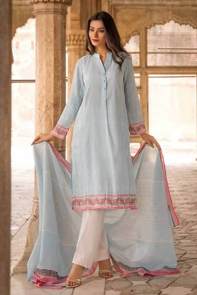 Two Piece Trendy Women Collection 2019 by Gul Ahmed