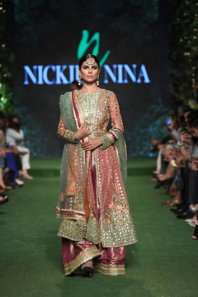 "Bridal Collection 'Gulabkaar"" by Nickie Nina at PLBW 19"