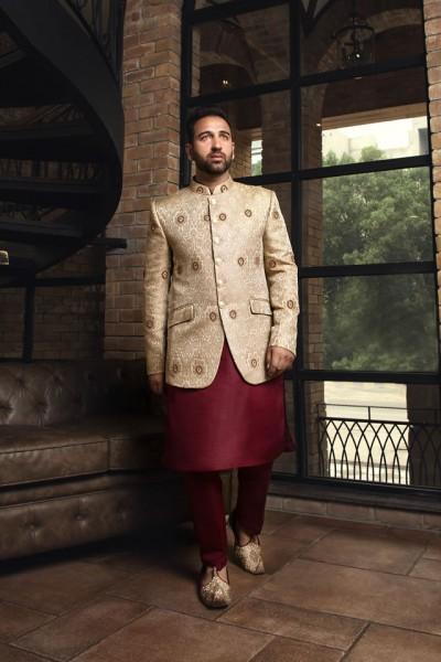Shameel Khan Prince Suit