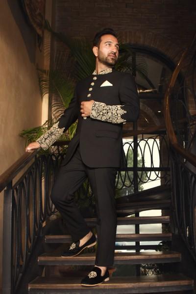 Shameel Khan Prince Suit Designs