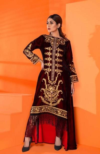 Al-Zohaib-Embroidered-Velvet-dresses-2