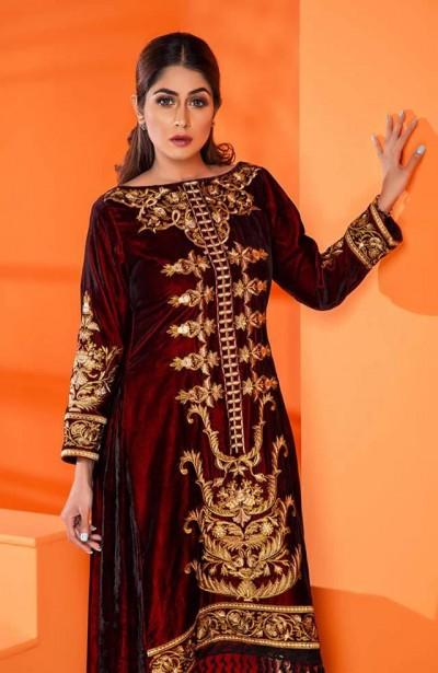 Al-Zohaib-Embroidered-Velvet-dresses-1