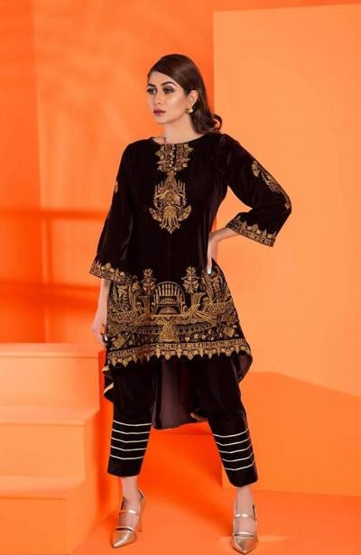 Al-Zohaib-Embroidered-Velvet-dresses-8