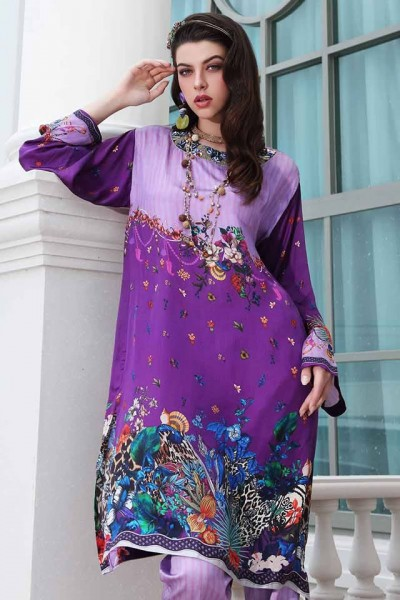 Gul Ahmed Digital Silk dresses