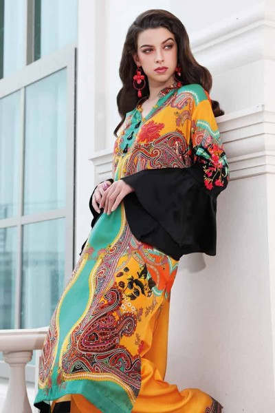 Gul Ahmed Silk collection 2019