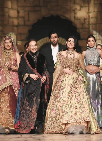 Nilofer Shahid Lastest Bridal Collection