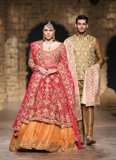 Shamsha Hashwani Wedding Dresses Collection