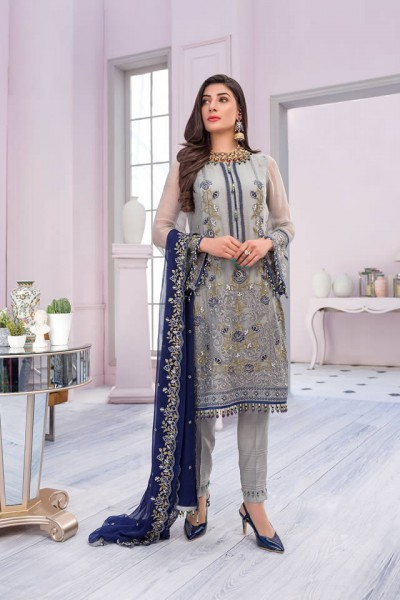 Embroidered Chiffon Collection 2020