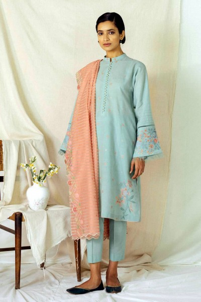 Zara Shahjahan Embroidery Lawn Collection