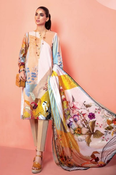 Gul Ahmed Embroidered Lawn