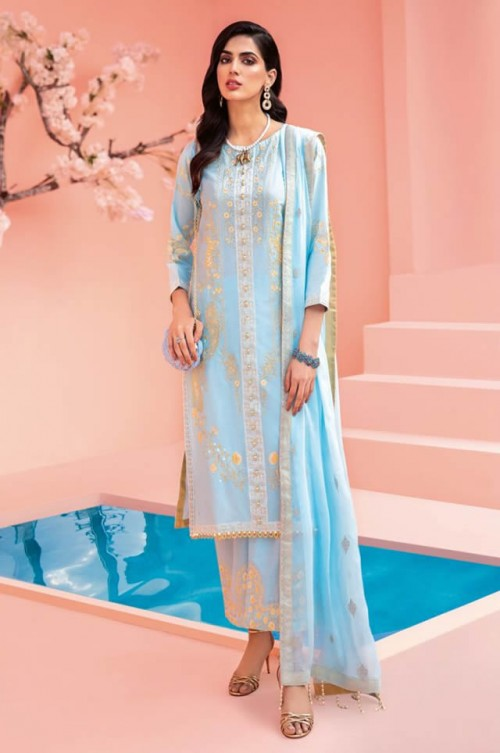 Gul Ahmed Embroidered Lawn Collection